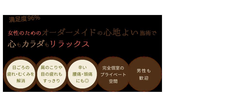 松戸で人気のリラクゼーションサロンREFRESH SALON neu メインイメージ